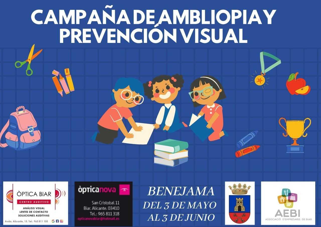 Campaña de ambliopia y prevención visual.