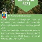 Voluntariado ambiental 2021