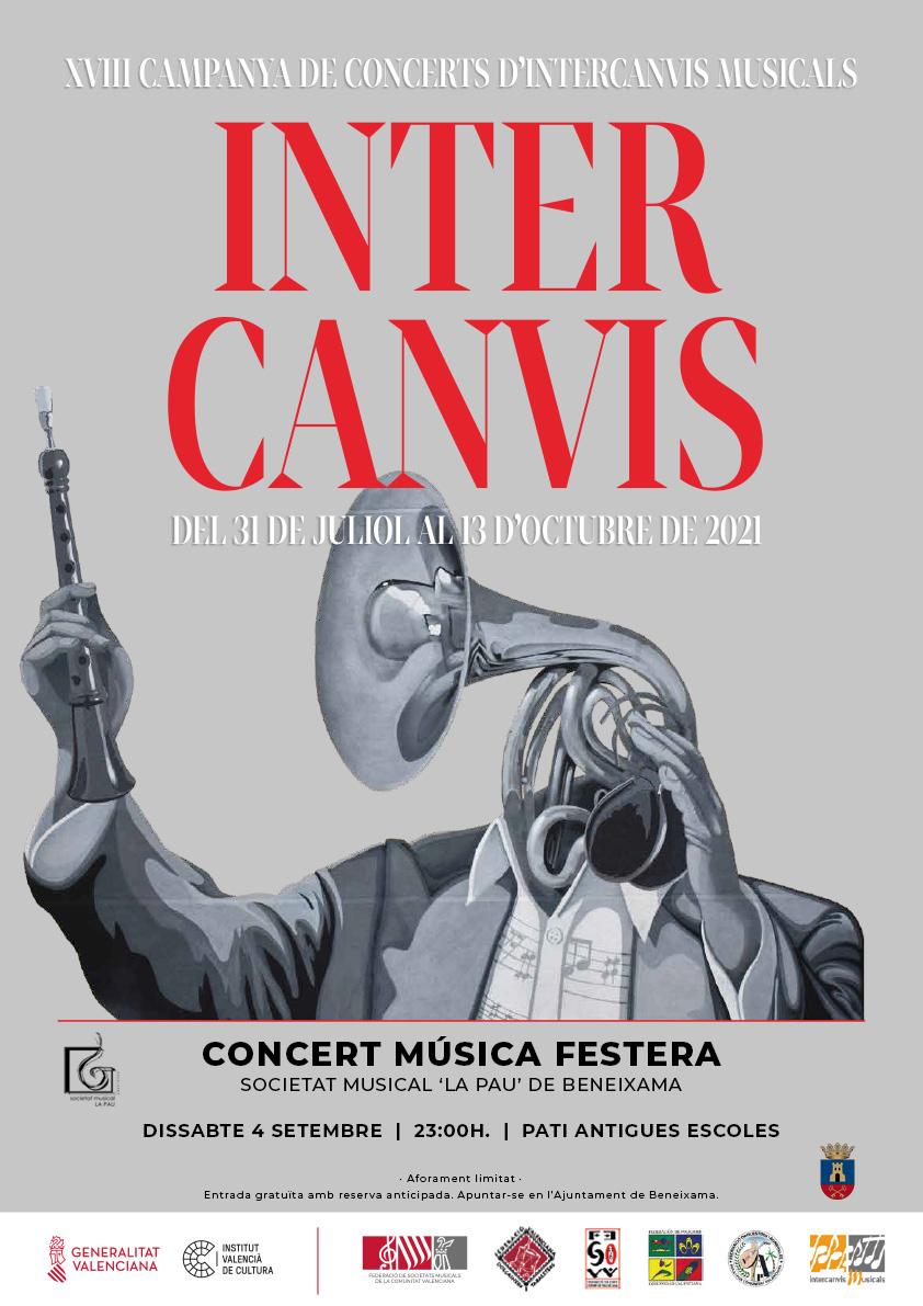 Concierto música festera 4 de septiembre.